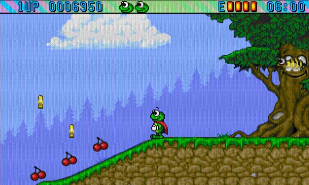 Superfrog gameplay