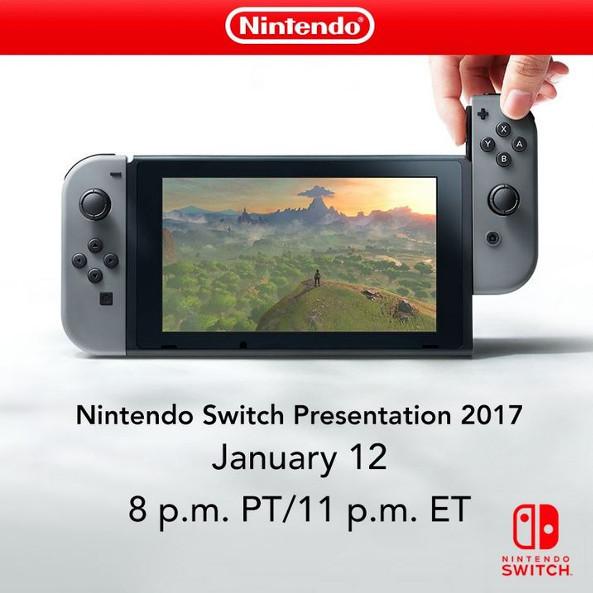 tweet presentazione switch