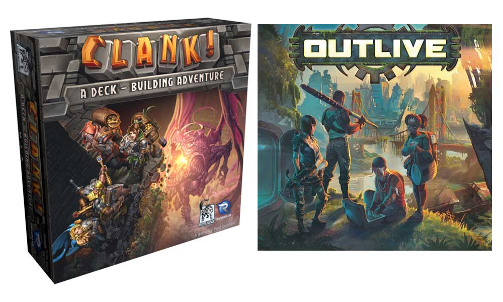 Clank! e Outlive: due novità Raven Distribution in arrivo