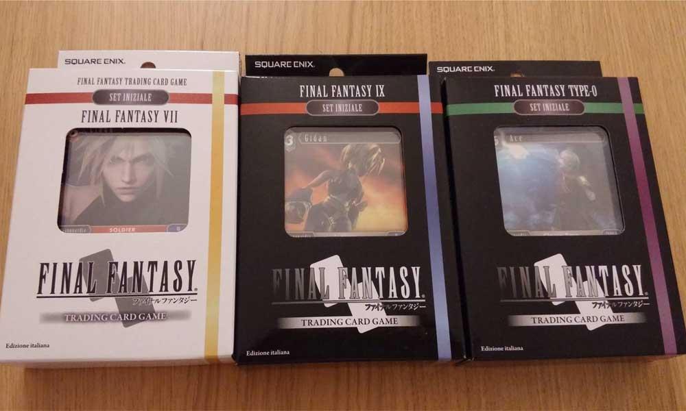 Final Fantasy Trading Card Game – Dallo schermo alle carte