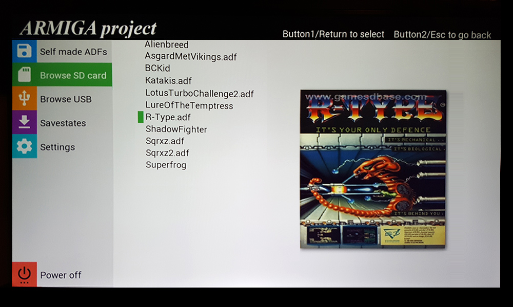 Armiga: elenco giochi