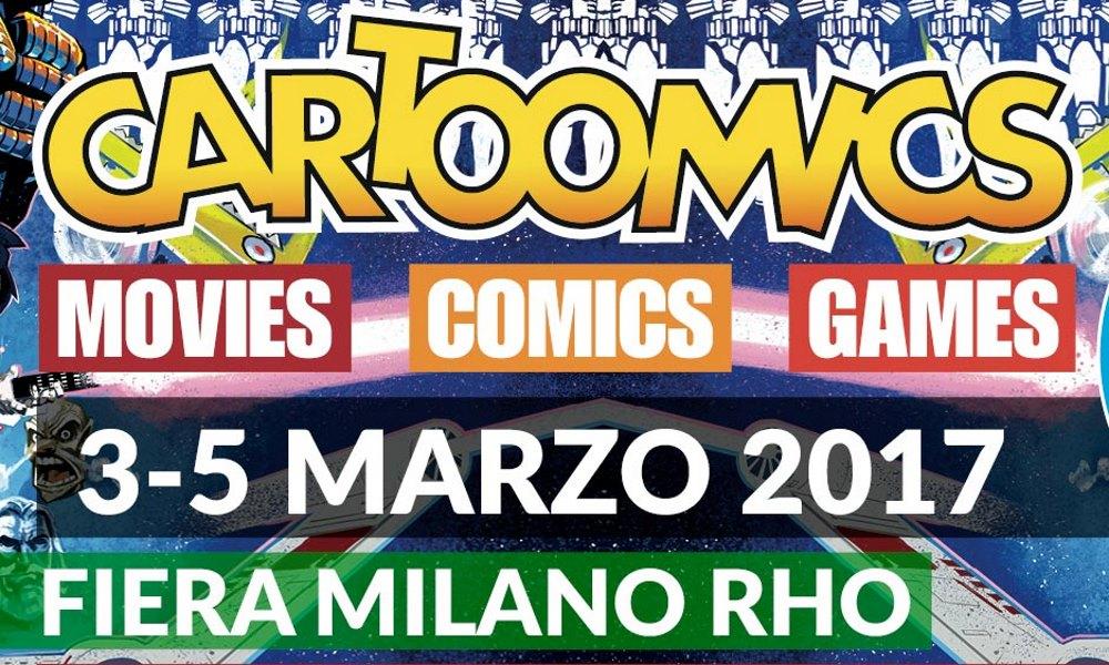 Cartoomics 2017 il programma della fiera for Fiera monaco marzo 2017