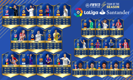 Team of the Season Liga