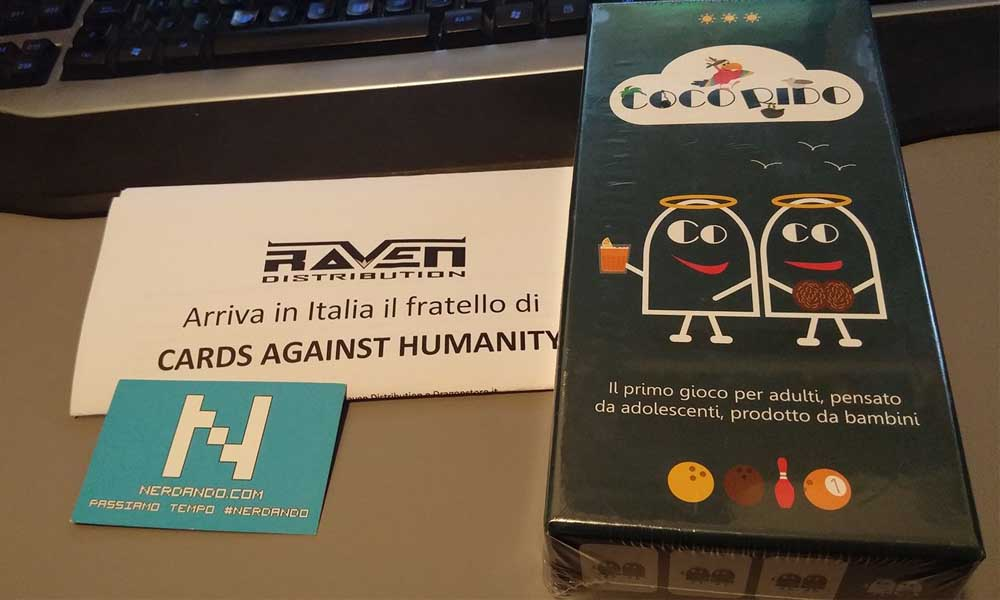 Coco Rido – Il fratello di Cards Against Humanity sbarca in Italia