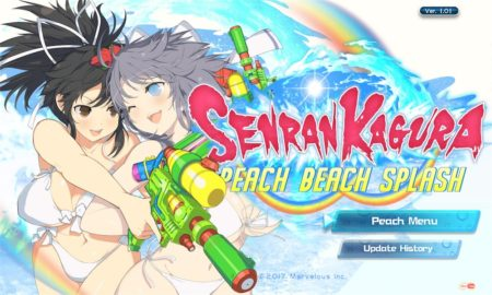 Peach Beach Splash