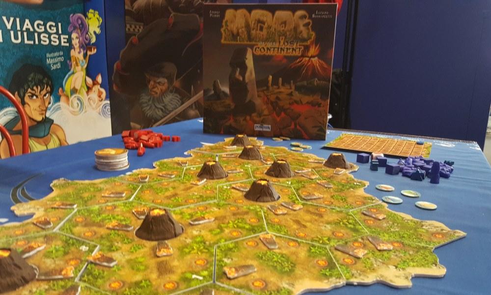Moai del Continente Perduto