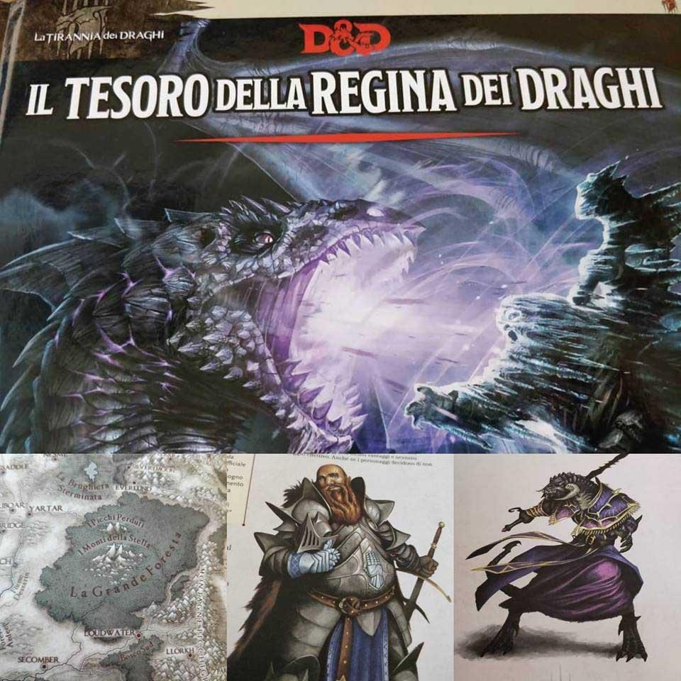 Il tesoro della regina dei draghi