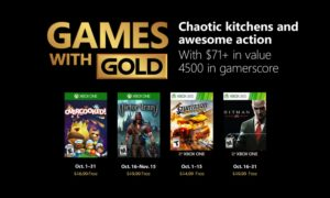 Games with Gold Ottobre 2018