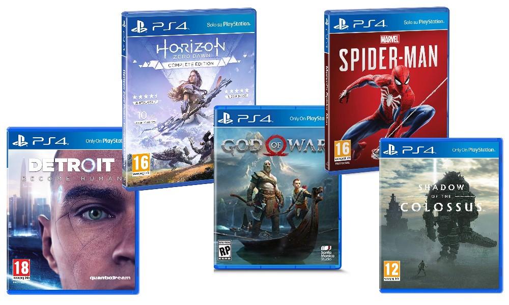 Natale 2018 Playstation 4