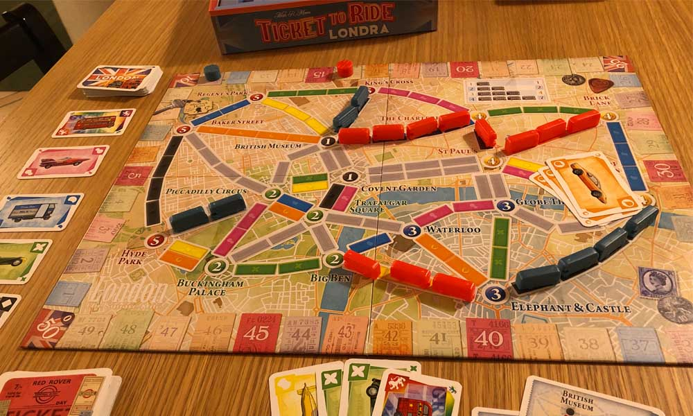 Ticket to Ride Londra