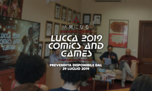 Conferenza Stampa Lucca Comics & Games 2019